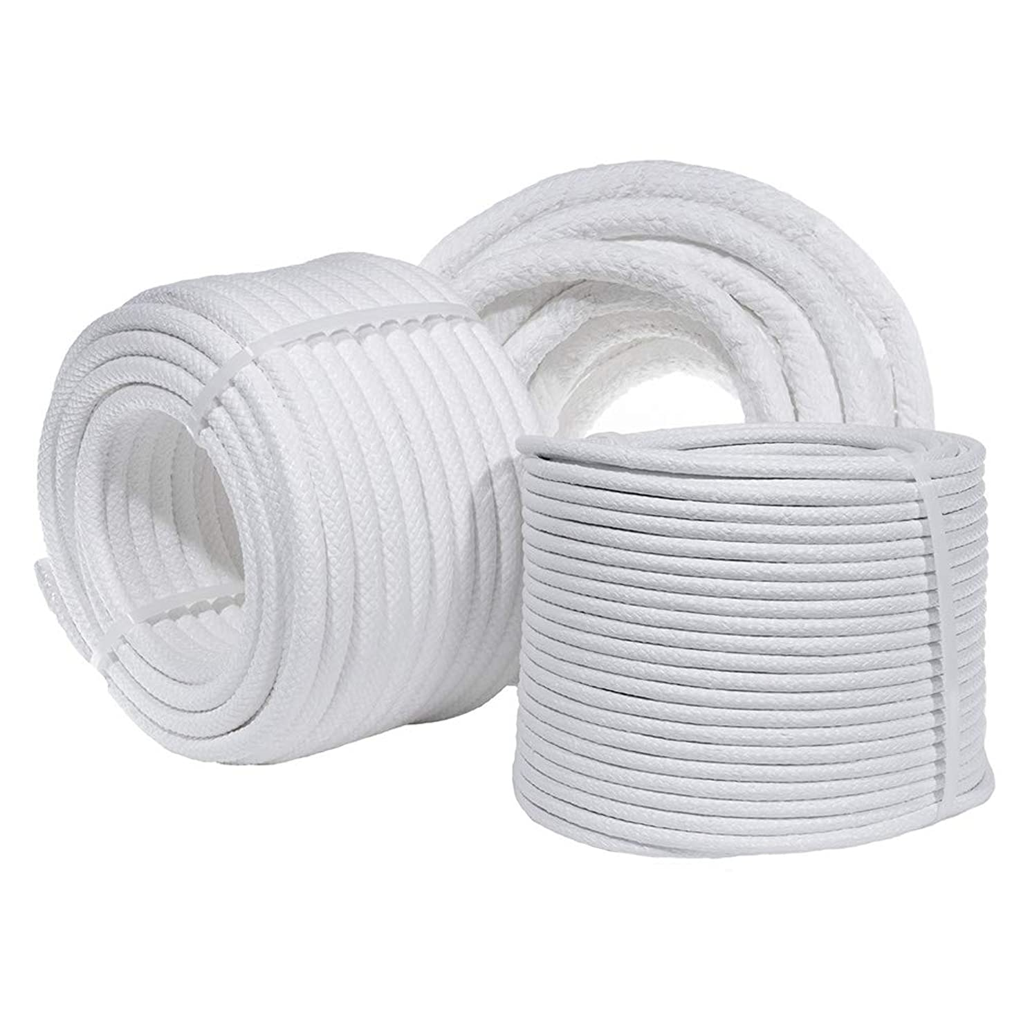 "Coiling Cord with Multiple Size and Length Variations - 3/4"", 1/2"" and 1/4"" in Either 30, 50, 100, or 180ft in Length Options - Perfect for Basket Weaving"