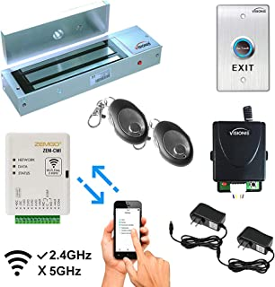 Zemgo FPC-8428 Smart Mobile WiFi Controller for Access Control with Android + Apple App, Web Browser + Smartphone Remote V...