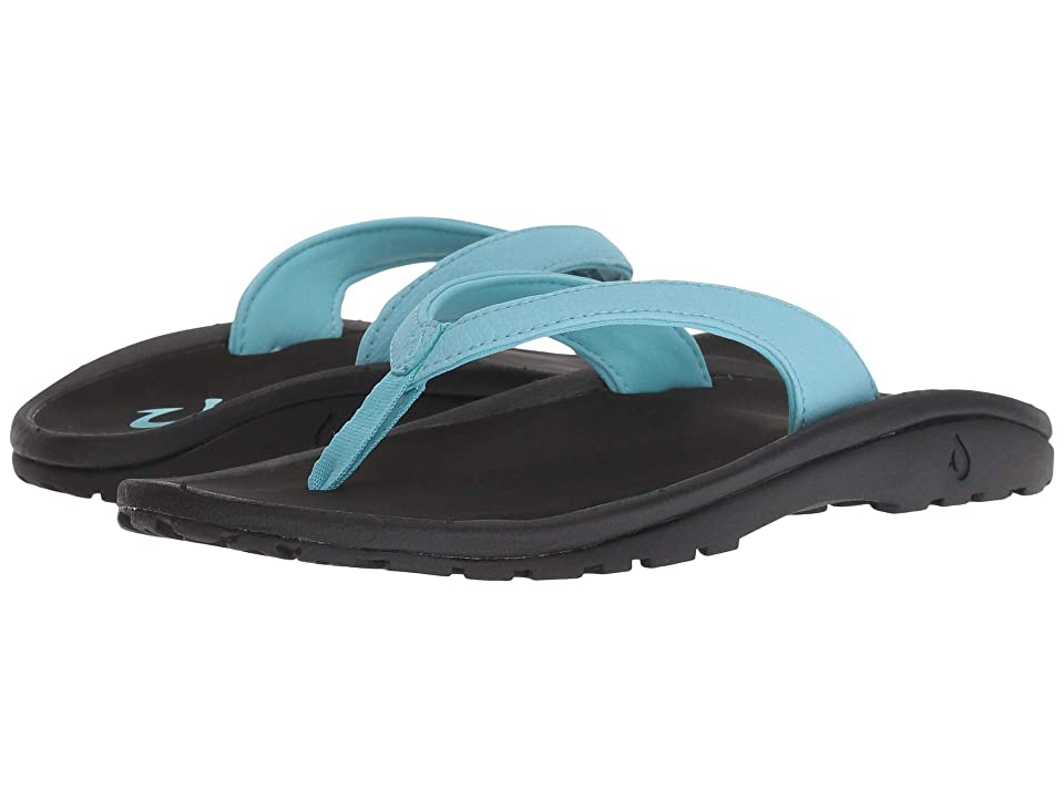 OluKai Kids Kulapa Kai (Toddler/Little Kid/Big Kid) (Cotton Candy/Black) Girls Shoes