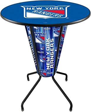 L218 New York Rangers Lighted Pub Table