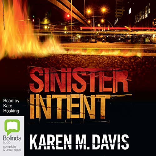 Sinister Intent audiobook cover art