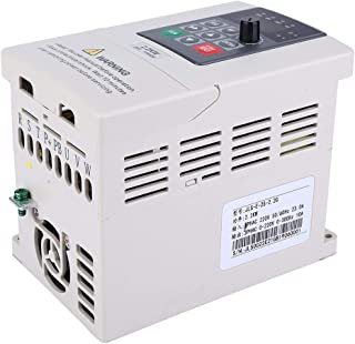 LHQ-HQ VFD Inverter 1.5KW 220V Single Phase Input 3 Phase Output Professional Variable Frequency Drive for Motor Speed Control