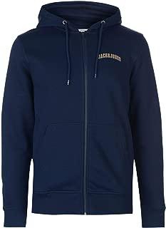 Jack and Jones Originals Harvey Zip Hoodie Mens Hooded Top Sweater Outerwear