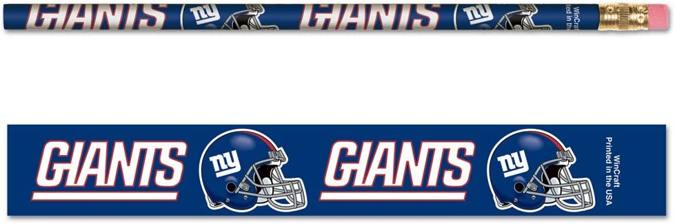 NFL Boston Mall New York Giants Pack Attention brand 15556041 6 Pencil