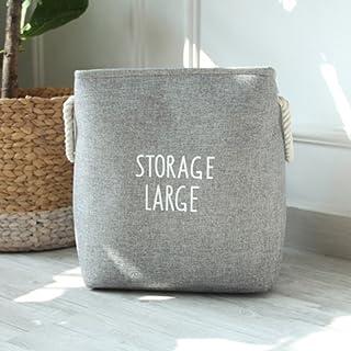 Toim cuadrado algodón espesada lavandería cestas, cesta de almacenamiento ropa, Home caja de almacenamiento