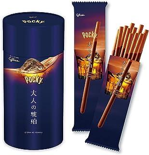 江崎グリコ ポッキー大人の琥珀 最新版 1箱(6袋入り) チョコレート お酒に合う贅沢ポッキー