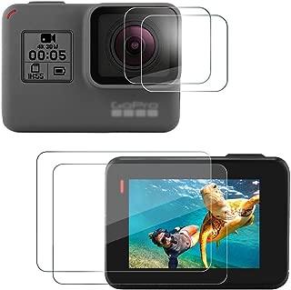 アイトランク iTrunk Gopro hero 9H 強化ガラスフィルムセット 保護 フィルム スクリーン レンズフィルム 2枚セット カメラ アクセサリー 気泡ゼロ/貼付け簡単/防水防油