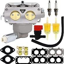 HOOAI 799230 Carburetor for John Deere L111 L118 L120 LA120 LA130 LA135 LA140 LA145 LA150 Briggs & Stratton 791230 699709 499804 Toro Carburetor - John Deere LA145 Carburetor (799230)
