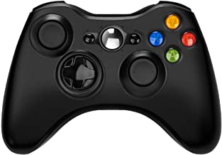 Xbox 360 Wireless Controller,WeiCheng Wireless Gaming Controller Gamepads Game Joysticks for Xbox 360 PC Windows 7, 8, 10 2.4Ghz Black