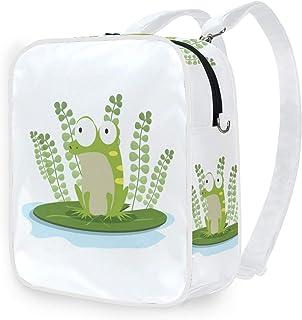 DEZIRO - Mochilas para colegio, diseño de rana