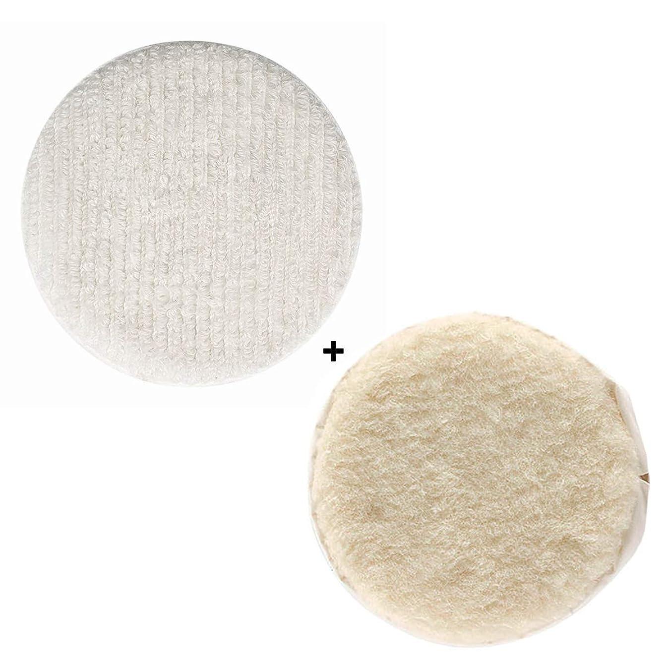 Oreck Commercial Carpet Bonnet AND Lambs Wool Bonnet Orbiter Pads (12