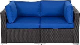 Best rattan love sofa Reviews