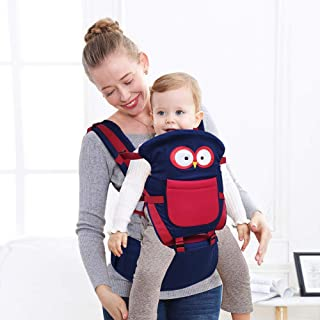 Comfy Fit Baby Carrier, Baby Hip Seat, All Carry Positions Baby Carrier, Original Baby Doll Carrier, One Size Fits All -Adapt to Newborn, Easy-to-Use, Front and Back Carry, Multi-Position - Pink