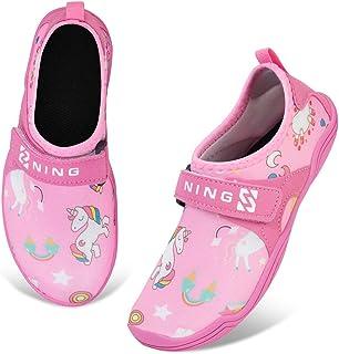 IceUnicorn Enfants Chaussures Aquatiques Chaussures Minimalistes Chaussures de Trail Running Chaussures de Plage Garçons e...
