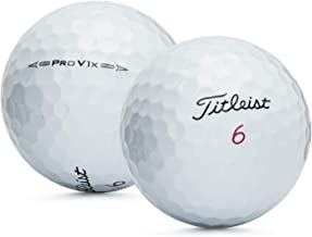 Titleist PROV1X 2016-VALUE AAA Grade-Recycled Used Golf BALLS-50 Pack