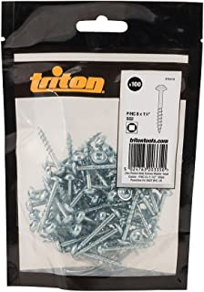 100 piezas 100 AUPROTEC Tornillos de chapa 3,9 x 13 mm TORX con cabeza de arandela tornillo alomado cincado negro DIN 7049-3,9 x 13 mm