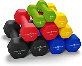 Fitness Republic Neoprene Dumbbell Pairs - Combo