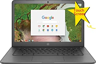 2018 HP Flagship Premium Business Chromebook | 14in HD (1366 x 768) Multitouch Screen | Intel Celeron N3350 up to 2.4GHz | 4GB Memory | 32GB SSD | Bluetooth | No Optical | Renewed