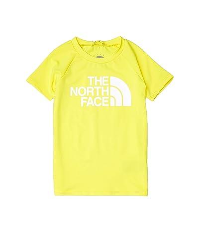 The North Face Kids Short Sleeve Class V Water Tee (Little Kids/Big Kids) (TNF Lemon) Girl