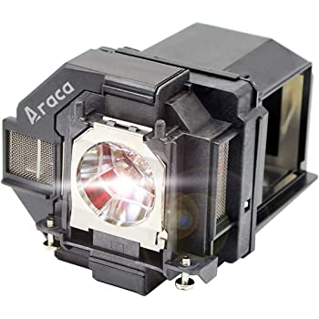 Araca ELPLP71 Replacement Lamp with Housing for Epson BrightLink 485Wi 475Wi 485Wi 475W 475Wi 1410Wi Replacement Projector Lamp