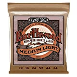 Ernie Ball 2146 Earthwood Medium Light Acoustic Phosphor Bronze String Set (12 -...