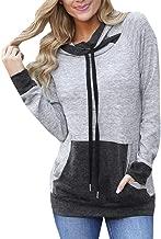Yayu Women Long Sleeve Zip Sweatshirt Fleece Pullover Outwear Coat with Pockets