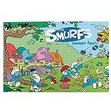Rompecabezas de 1000 piezas de los Pitufos para adultos, juego desafiante para niños
