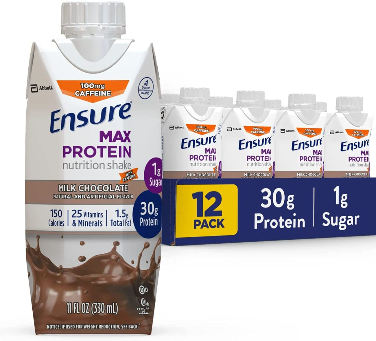 Ensure Max Protein Nutrition Shake 1g with Ranking TOP10 Sug 30g Gifts of
