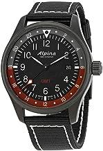 Alpina Startimer Pilot GMT Black Dial Mens Watch AL-247BR4FBS6