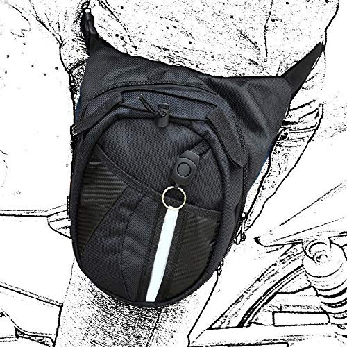 YDFYX Pierna Bolsa Multifuncional de Nailon Bolso para Viaje Senderismo Escalada Ciclismo Camping Montando en Bici Motocicleta Pack