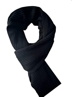 Bonnenult Men's Winter Cashmere Scarf Warm & Long Merino Wool Scarves