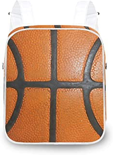 LUPINZ - Mochila de baloncesto, color naranja