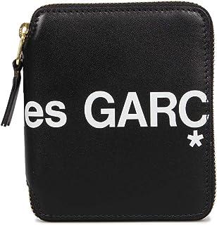 [コムデギャルソン] COMME des GARCONS 二つ折り財布 HUGE LOGO WALLET SA2100HL ブラック [並行輸入品]