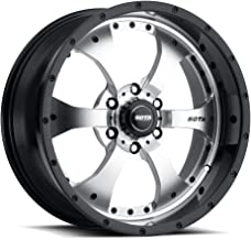 Sota OffRoad Novakane Custom Wheel - Black with Machined Face - 22