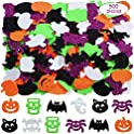 500-Pieces Outus Halloween Foam Stickers