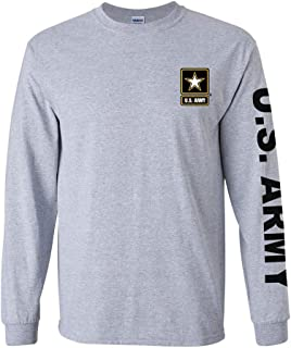 U.S. Army long sleeve T-shirt. Sport Grey