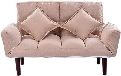 Amazon.com: Sillón para sala de estar de lino con ...