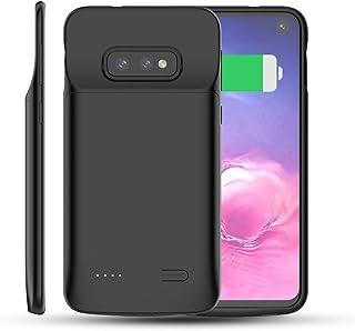d4333b4afac BasicStock Funda Batería Samsung Galaxy S10e, 4700mAh Batería Externa  Recargable Ultra Delgada Protector Portátil Carga