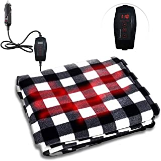 Best cigarette lighter heated blanket Reviews