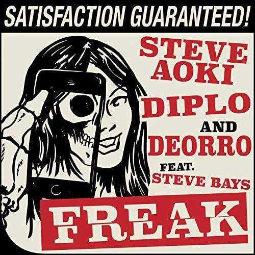 Steve Aoki, Diplo & Deorro feat. Steve Bays