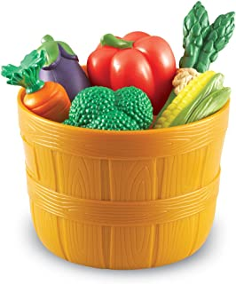 Learning Resources New Sprouts Bushel of Veggies, 9 Colorful Veggies, Ages 18 mos+