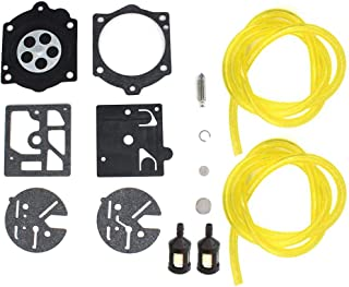 AISEN Carburetor Repair Rebuild Kit for Echo CS-650EVL CS-500VL CS-500EVL Saw Carb HDB Diaphragm Gasket Fuel Line Filter