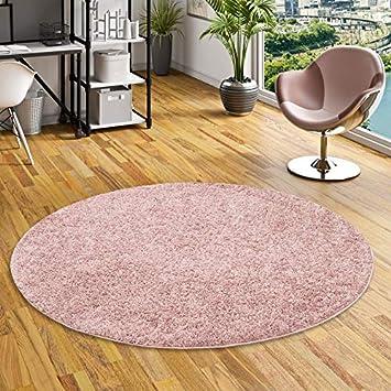 antiscivolo GGoty protezione per pavimento rotondo per sedie a rotelle 70 cm di diametro ufficio soggiorno casa viola tappetino rotondo per sedia da pavimento scrivania
