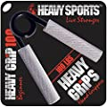 Heavy Grips - Hand Grippers for Beginners to Professionals - 100 -350 lbs Resistance