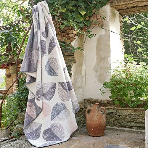 sei Design Plaid Kassandra | Kuscheldecke | Wohndecke | Flauschig weich – hochwertige Verarbeitung 150 x 200 cm