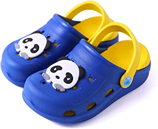KVbabby Kid's Garden Shoes Girls Cute Clogs Boys Mules Slides Sandals Beach Slipper Water Shoes