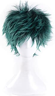 magic acgn My Hero Academia Green Short Party Unisex Anime Cosplay Costume Christmas Halloween Wig