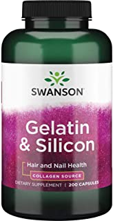 Sponsored Ad - Swanson Gelatin & Silicon 200 Capsules