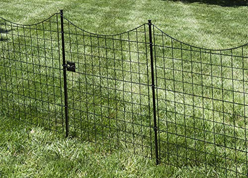 Zippity Outdoor Products WF29012 Black Metal Gate, 41'