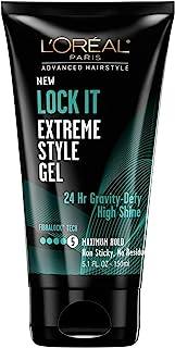 L'Oreal Paris Advanced Hairstyle LOCK IT Extreme Style Gel, 5.1 fl. oz.